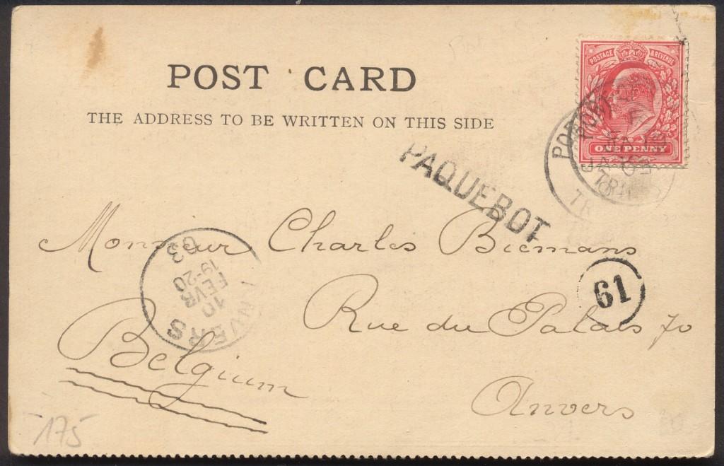 Port of Spain 175 (A) Stratmann