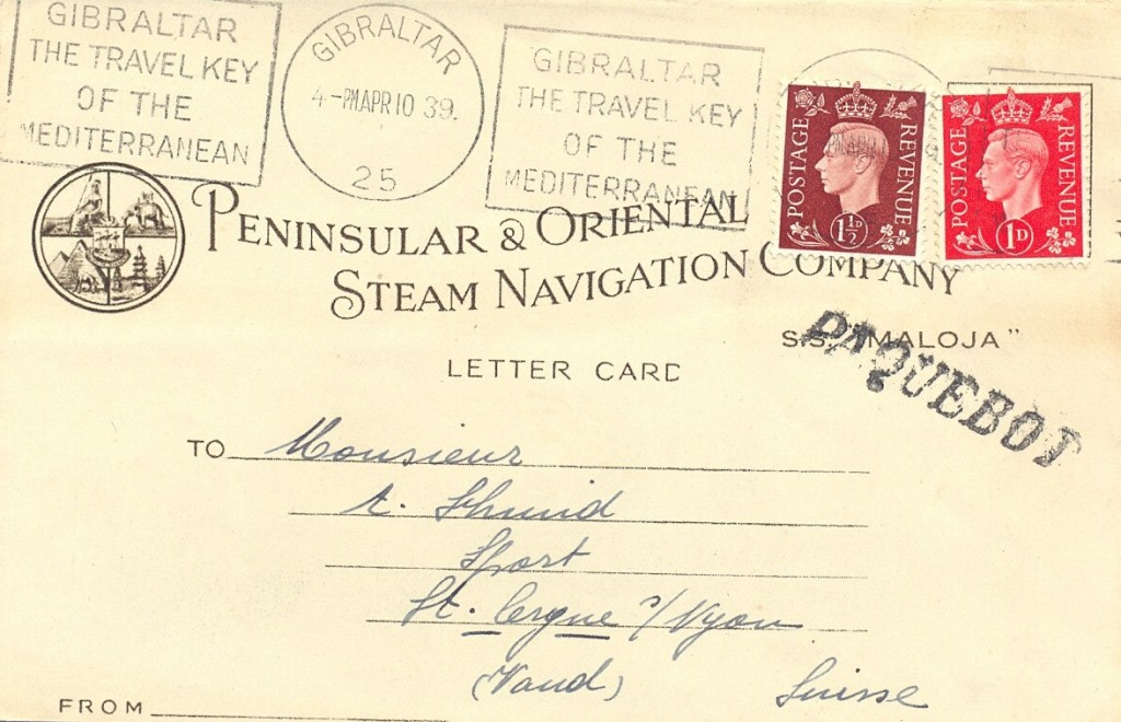 Gibraltar 1049 (E) Schilling