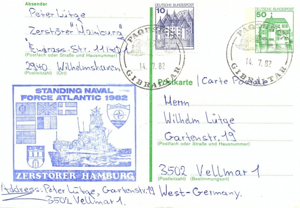 Gibraltar 1051 (G) Schilling