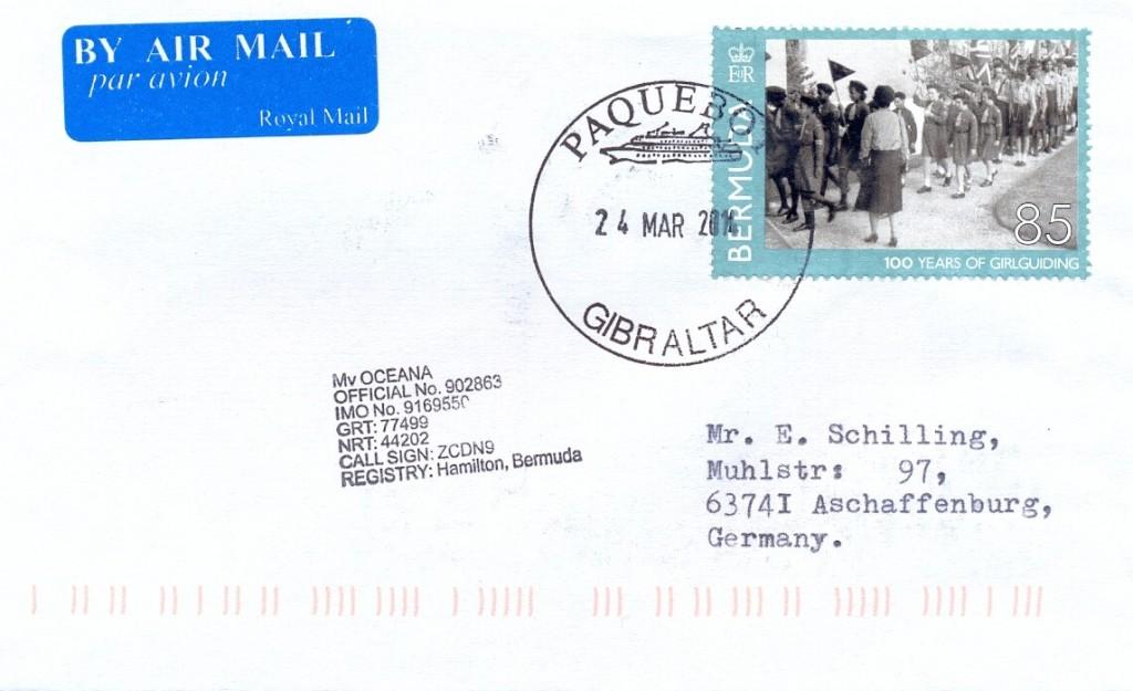 Gibraltar 5701 (B) Schilling
