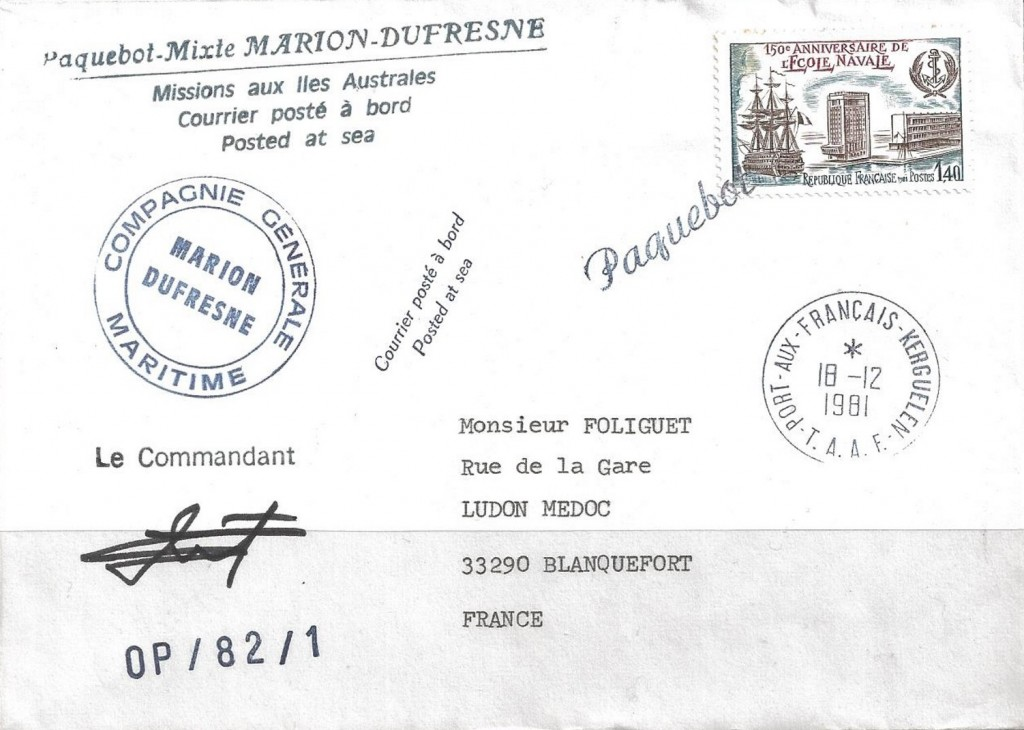 Port Aux Francais 2637 (B) McGary