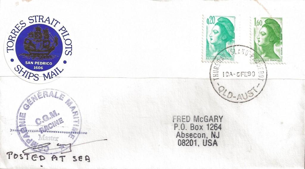 Thursday Island 1518 (D) McGary