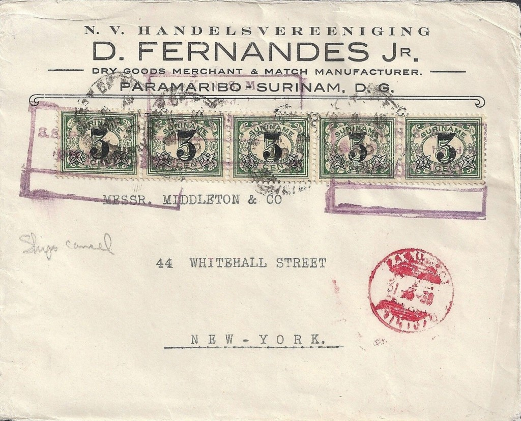 Port of Spain 2467 (D) SS Pr. Fred Hendrik