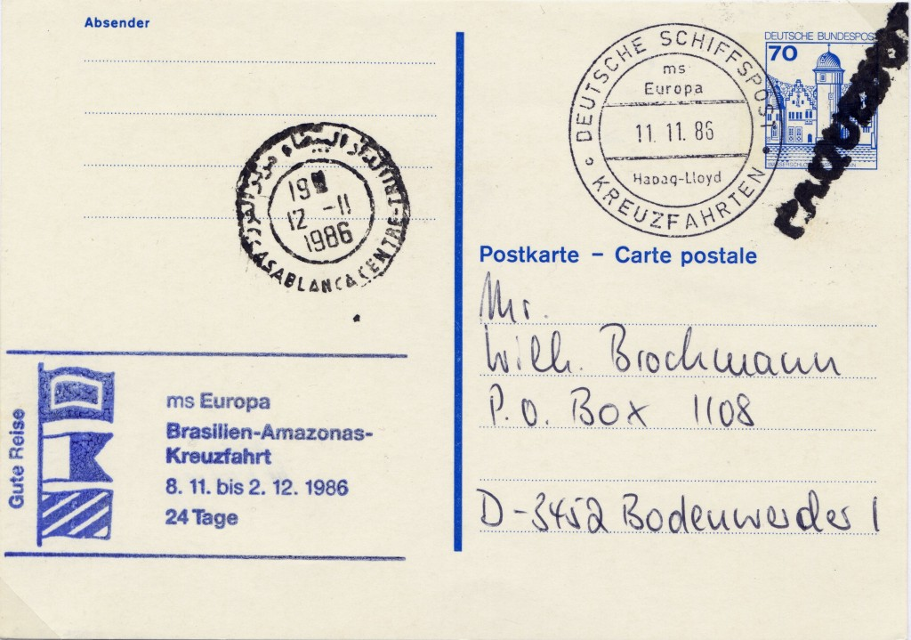 Casablanca 2747 (J) Brockmann