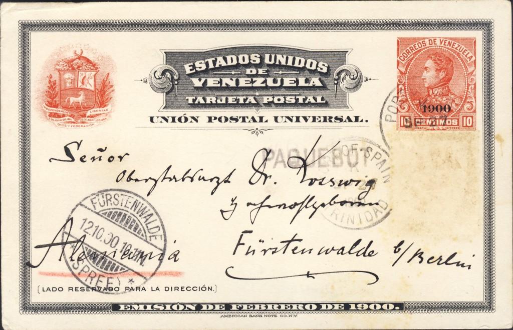 Port of Spain 175 (B) avers