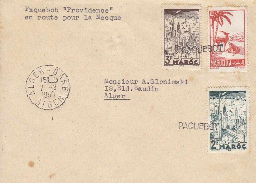 Algiers 2719 (E) von 1950