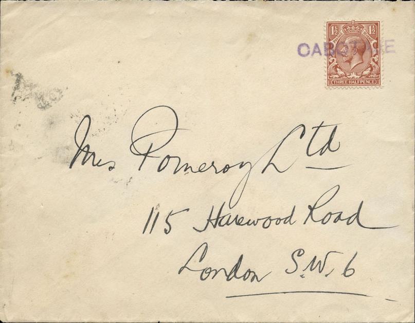 Coronel 2560 (B) vom 13 July 1923