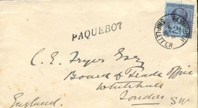 Plymouth England 174 (C)