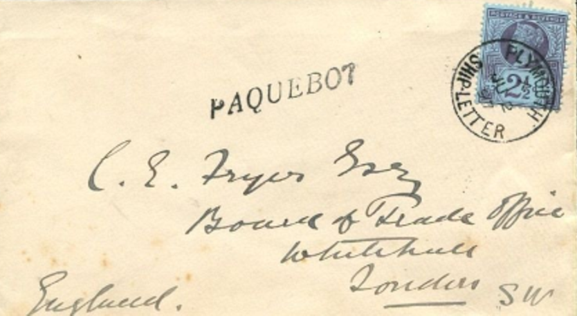 Plymouth England 22 (C)
