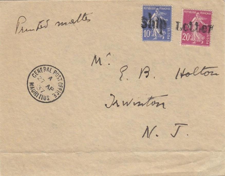 Port Louis 2849 (J)