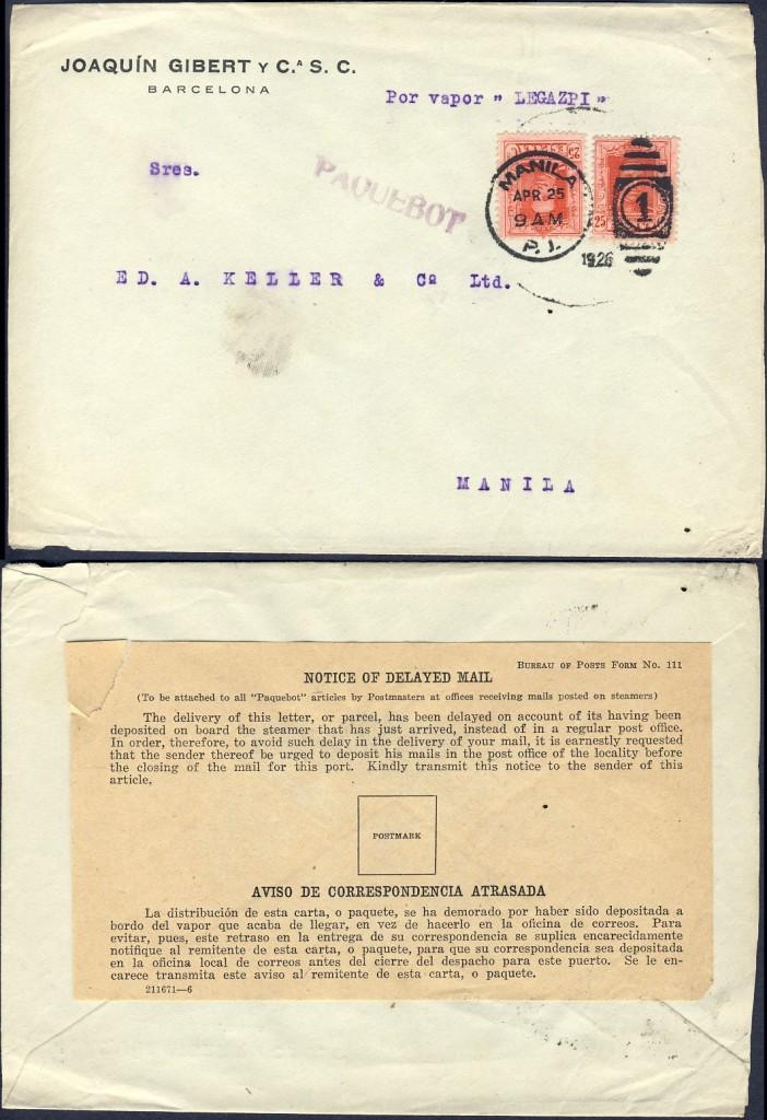 Manila 1661 (B)