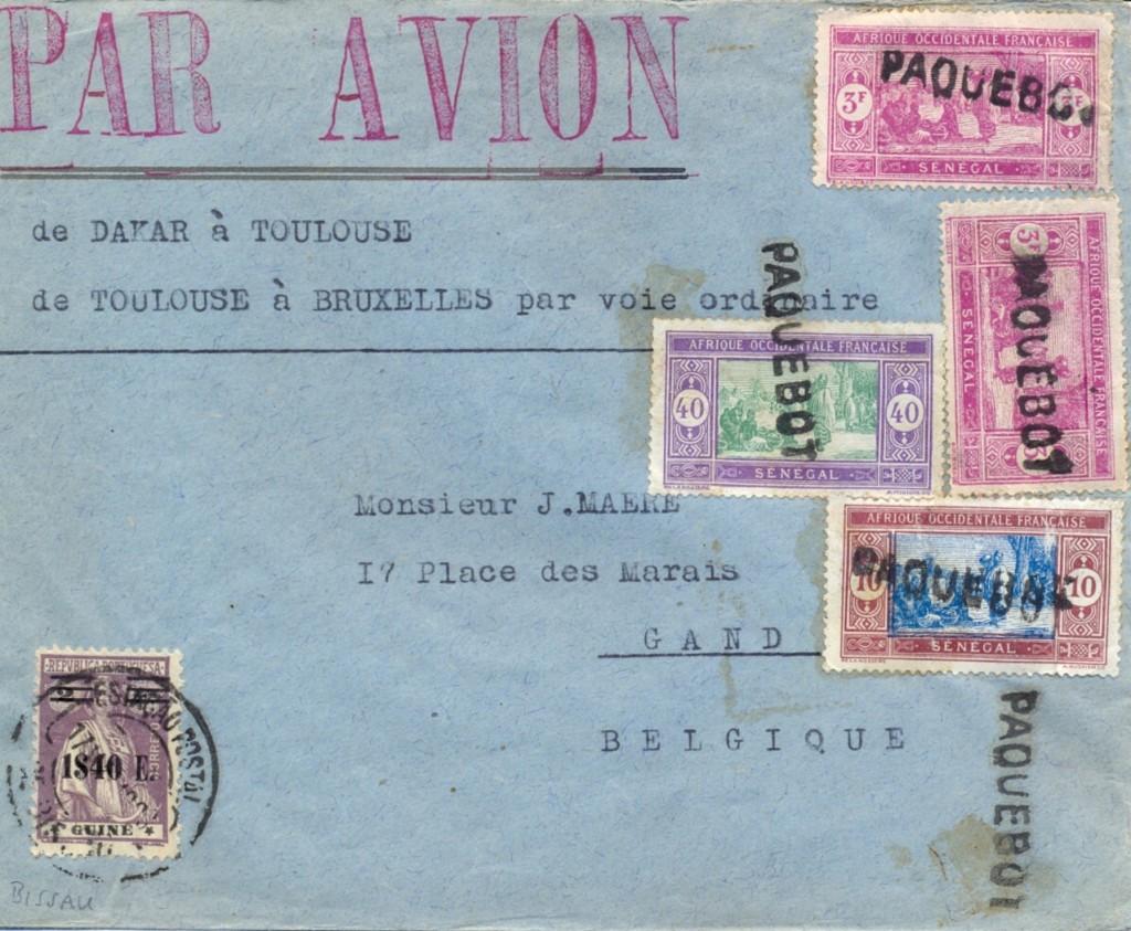Dakar 419 (C) Schilling ca. 1931