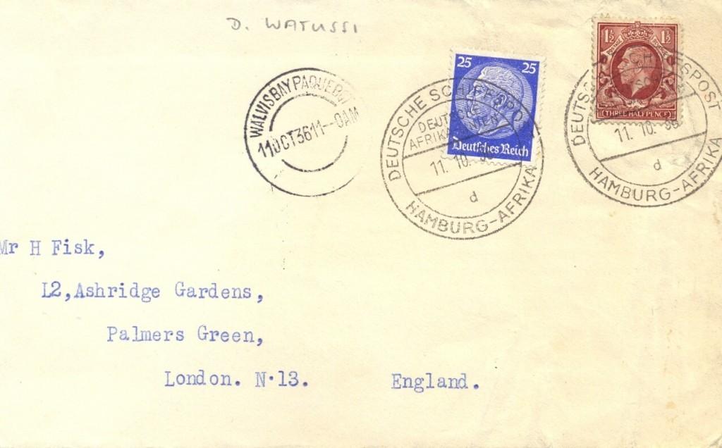 Walvis Bay 2916 (E) Schilling