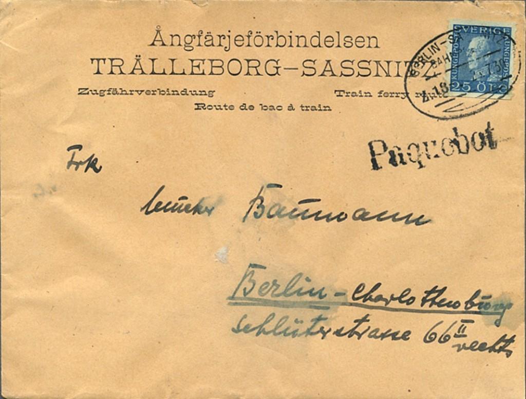 Berlin Sassnitz TPO 5610 (B)
