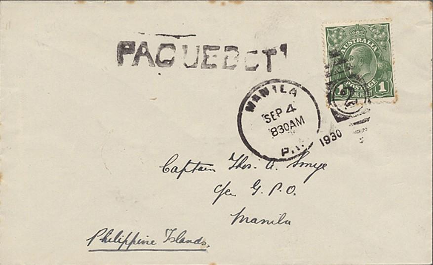 Manila 1724 (A) Schilling