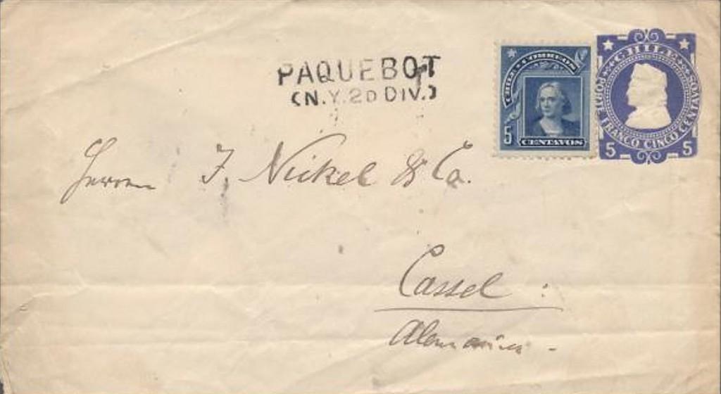 New York 2052 (AA) Schilling von 1902