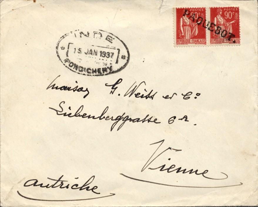 Pondicherry 3015 (H) Schilling