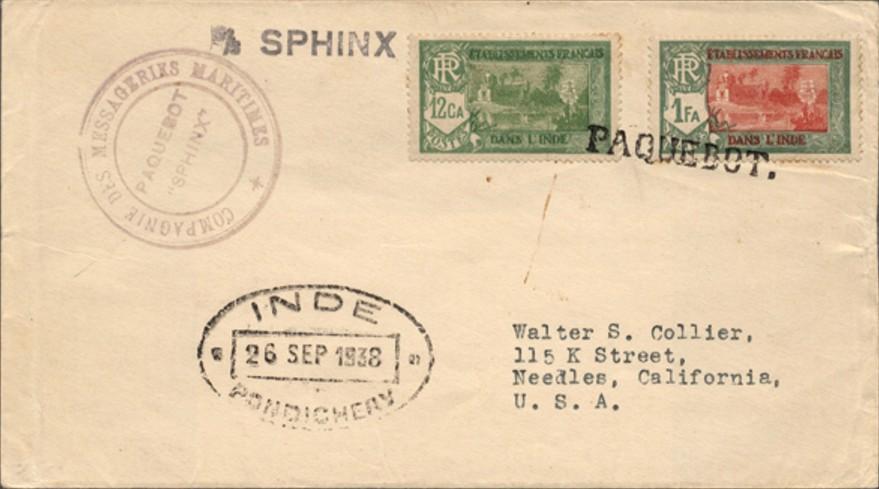 Pondicherry 3015 (I) Schilling