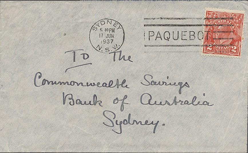 Sydney 1507 (L) Schilling