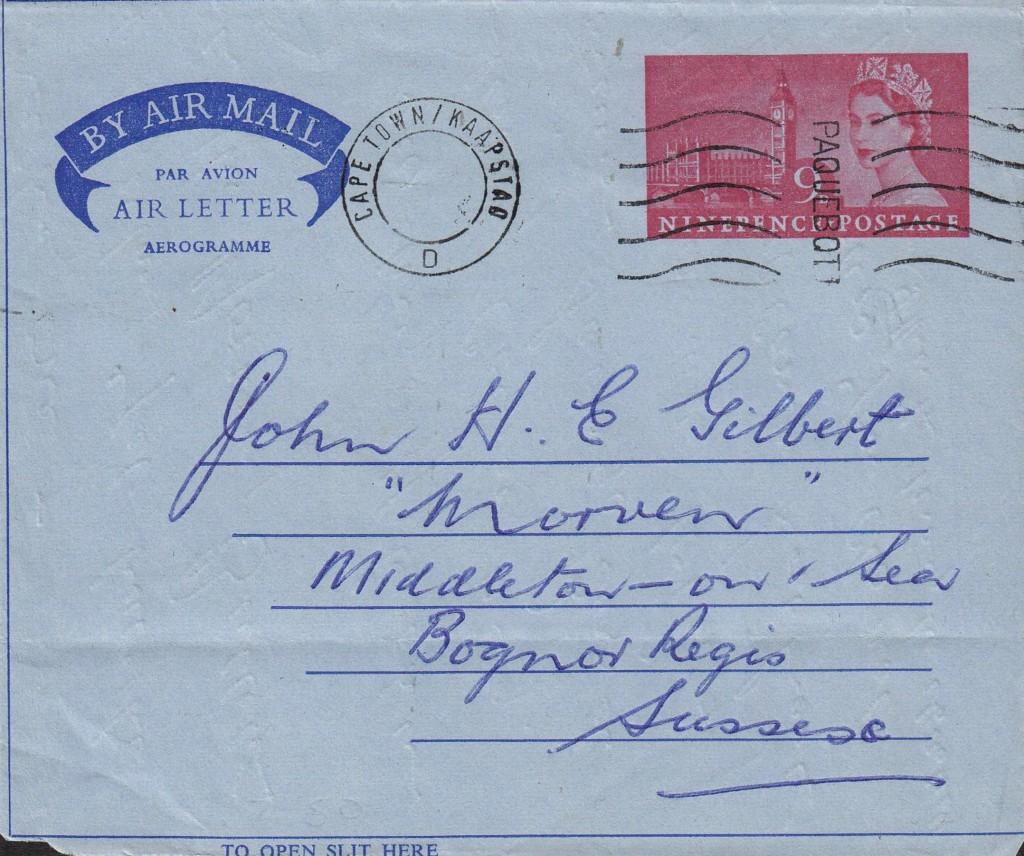 Capetown 2743 (E) vom 22.9.67