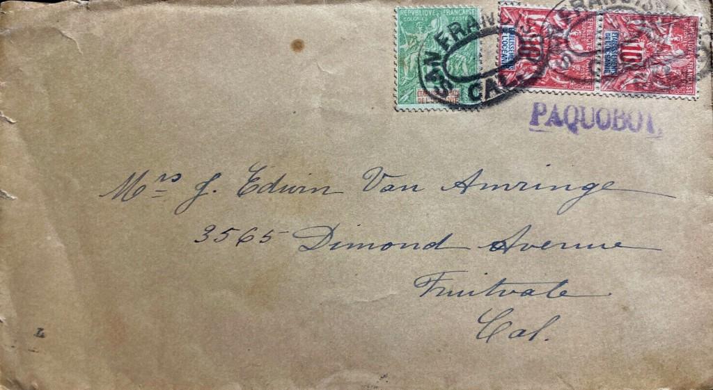 San Francisco 2138 (S) vom 3 OCT 1912