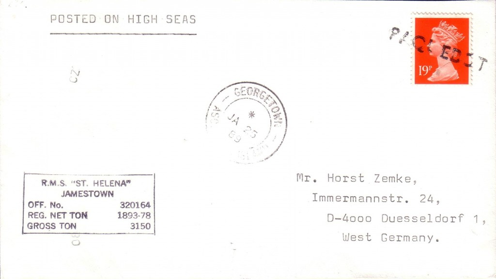 Ascension Island  2644 (D) Stratmann