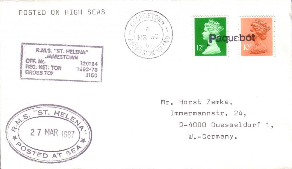 Ascension Island 2646 (A) Stratmann