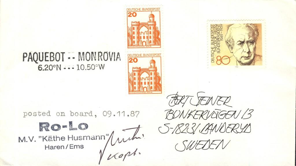 Monrovia 2831 (B)
