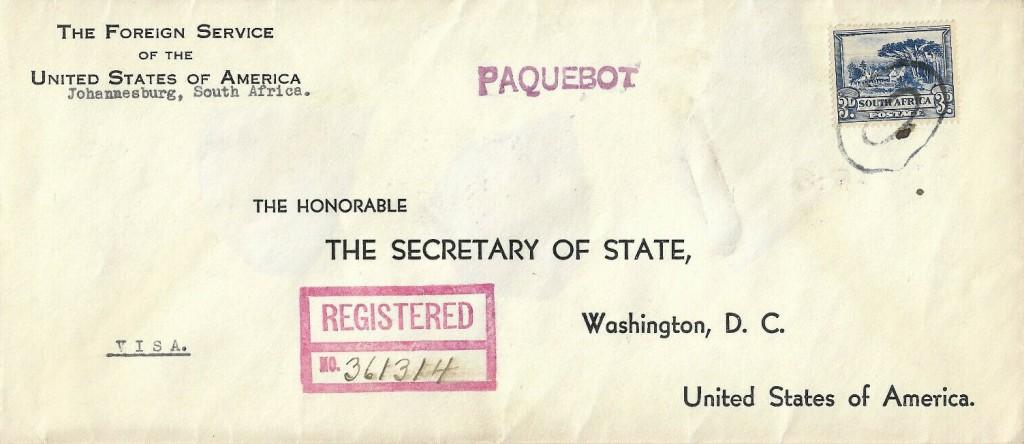 Boston USA 1857 (L) vom 2. JAN 1940